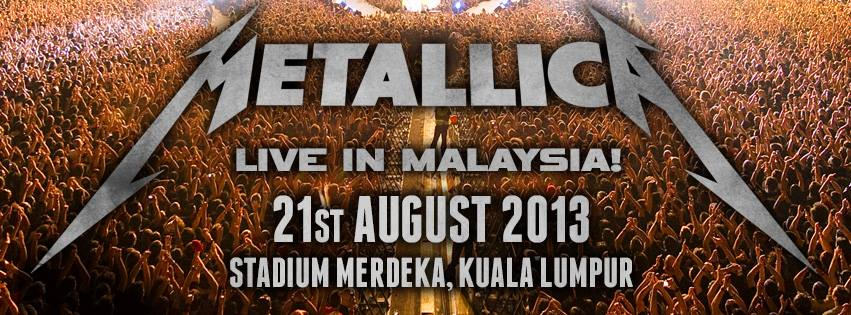 Mettalica in Malaysia