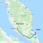 My Island Escapade to Tioman : Kluang and Mersing